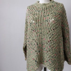 Green frenchie knit sweater